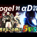【荒野行動】αDAves vs αDVogel…5vs5で行われたガチバトルが激アツすぎたwwww(ふぇいたん)