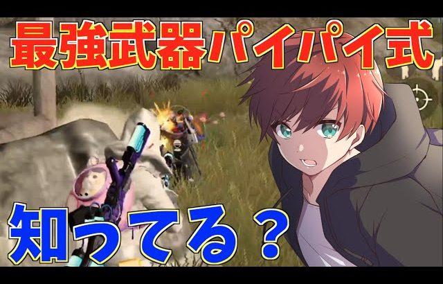 【荒野行動】新たな最強武器パイパイ式って知ってる?(Maro)
