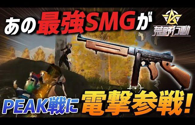 【荒野行動】Peak戦シーズン2で突如現れたSMG最強武器で無双してきたwww(ふぇいたん)