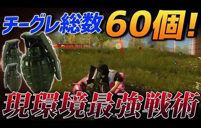 【荒野行動】チームグレ総数60個…これが現環境の最強戦術です(ふぇいたん)